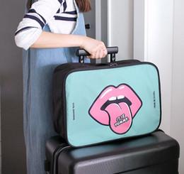 $enCountryForm.capitalKeyWord NZ - Cartoon Portable Trolley Travel Bag Boarding Suitcase Bag Luggage Travel Bags Clothes Storage Organizer