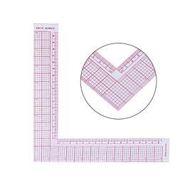 New Plastic Sewing Square Curve Ruler Tailor Drawing Craft Tool Strumento di fornitura fai da te Sep26