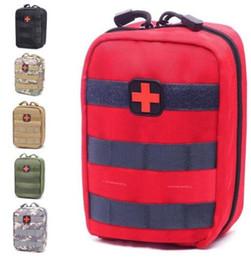 Sac vide pour trousses d'urgence tactique médical trousse de premiers soins taille Pack Pack en plein air camping randonnée Voyage tactique Molle Pouch Mini