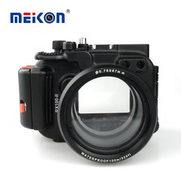 $enCountryForm.capitalKeyWord Australia - Meikon Aluminum camera housing for diving 100M 325ft underwater waterproof Aluminum camera case for Sony RX100 II   RX100 M2