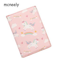 China Unicorn Travel Passport Holder Monocerus Women Journey Document Organizer Wallet Passport ID Card Cover Ticket Credit Bag Case supplier passport document wallet suppliers