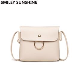 cb875e502b0fa SMILEY SONNENSCHEIN Kleine Frauen Messenger Bags Hohe Qualität  Umhängetasche Pu-leder Mini Weibliche Schultertasche Clutch Handtasche  Bolsas