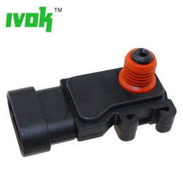 sensor for opel Canada - New 1 Bar Map Sensor For Opel Astar G H Combo Frontera Meriva Vectra Zafira 1.6 2.2 6238120, 6238159, 1235046, 1247047