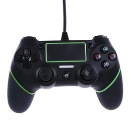 Vibration controller online shopping - New PS4 Wired Controllers USB Gamepads for PS4 Game Controller Vibration Wired Joystick Handle for PlayStation Console