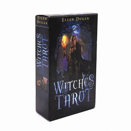 Chinese  2018 Witch Tarot radiant rider wait tarot cards high quality smith tarot deck board game cards manufacturers