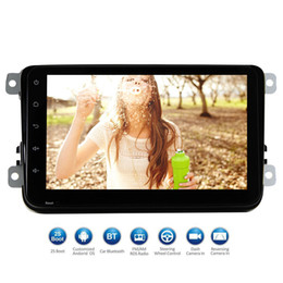 car double din touch screen NZ - 8'' Full Touch screen Car Stereo Android 6.0 system Double Din GPS In Dash Navigation Auto Radio Car Entertainment WiFi 1080P Video