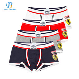 6ed8c932e0 Pink Heroes 4pcs lot Men Underwear Boxers Cotton Underwear Men Boxer Sexy  Print Low Brand Mens Shorts Boxers