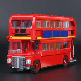 Discount toy buses for children - New LEPIN 21045 1716Pcs Creator Camper Bus Model Building Kits Bricks Toys Model Compatible for Children toy Gifts 10258