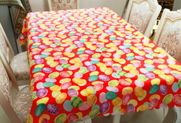 $enCountryForm.capitalKeyWord NZ - Colorful Tablecloth Easter Eggs Cotton Linen Easter Gift Pastel Table Cloth Cover Party Wedding Decoration Perfect for Easter Dinner Event