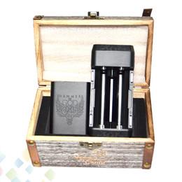 Hammer fit online shopping - Hammer of God V4 Box Mod Square Aluminum Body fit Battery Atomizers Vaporizer Hammer of God Mod DHL Free