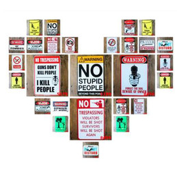 $enCountryForm.capitalKeyWord UK - 18 Styles WARNING LOGO Vintage Metal Tin Signs Retro Plaque ART Poster Painting Decorative WALL Plates Bar Pub Home Decor N059