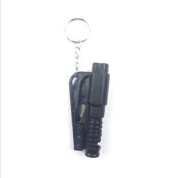 Auto Escape Australia - 3 in 1 Emergency Mini Safety Hammer Auto Car Window Glass Breaker Seat Belt Cutter Rescue Hammer Car Escape Tool