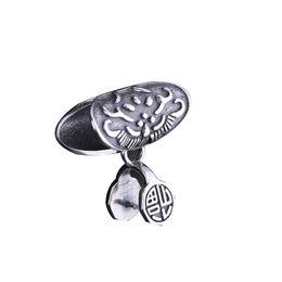 $enCountryForm.capitalKeyWord UK - Art Deco 925 Sterling Silver Semi Mount Pendant Clasp Fine Jewelry Setting Vintage Antique Fit Pandora Style