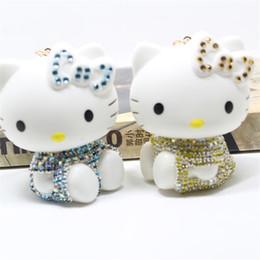 639ff2ff6 Hello kitty cars online shopping - 2018 New Hello Kitty Women Keychain  Chimes Cute Cartoon Girls
