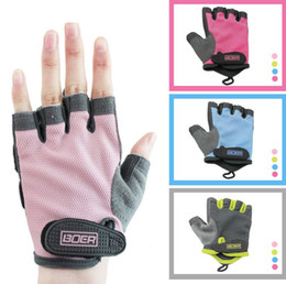 $enCountryForm.capitalKeyWord NZ - Hot fashion man women fitness exercise workout weight lifting sport gloves gym training Nylon Mountain Bicycle Gloves top quality