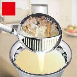 $enCountryForm.capitalKeyWord Australia - Home Kitchen Dining Bar Spoon Colander Stainless Steel Long Handle Kitchen Utensils Kitchenware Set Tools 3534