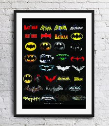 $enCountryForm.capitalKeyWord Australia - 75th Anniversary Of Batman Logo Art Poster Wall Decor Pictures Art Print Home Decor Poster Unframe 16 24 36 47 Inches