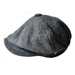 Toptan satış Erkekler ve kadınlar için moda newsboy kapaklar şapkalar gorras planas tasarımcı kap Eğlence ve yün karışımı konserve koala düz kap ücretsiz kargo