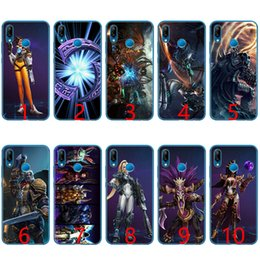 Discount pink hero brand - Heroes of the Storm Soft Silicone TPU Phone Case for Huawei Honor 7A Pro 6A 7X 8 Lite 9 Lite 10 Cover