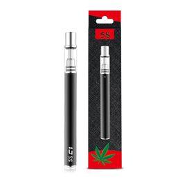 NOUVEAU jetable en céramique bobine stylo vape cartouches Pyrex verre vaporisateur stylo cartouches vape cartouche épaisse huile