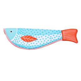 box student pencil 2019 - 5PACKS Hot High quality and lovely imitation fish box fish shaped wallet student gift(orange tail) cheap box student pen