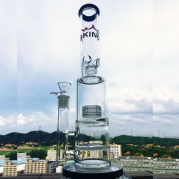 $enCountryForm.capitalKeyWord NZ - Enjoylife bongs K40 Stable large base patent big tire filter honeycomb filter easy to clean galss bong 15inch glass water pipes