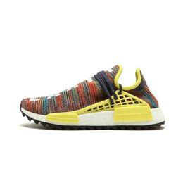 ac7881488 Yellow sneakers human race online shopping - Human race shoes Hu Trail  Equality NERD black Cream