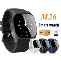 $enCountryForm.capitalKeyWord NZ - M26 Smart Watch Wireless Bluetooth Wearable Smart Watch Sport Watch for Android IOS Mobile Phone with Retail Box