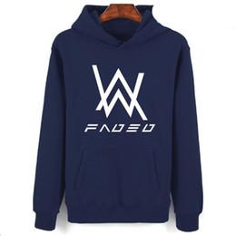 30126fd591c30 2017 Fashion Brand Clothing Alan Walker Oversized Hoodie Men Sudadera  Hombre Hip Hop Music DJ Hooded Sweatshirt Male Sportswear