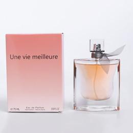Wholesale Ladies fragrance long lasting fragrance fresh flower and fruit fragrance Eau DE Toilette Spray for Women ML