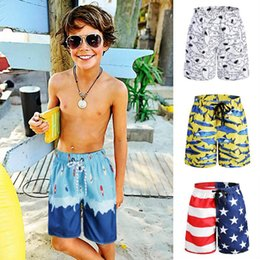 mixed swimwear Australia - 10pcs Hot Kid Board Shorts Surf Trunks Swimwear with Mix Colors Mix Size Twin Micro Fiber Boardshorts Beachwear Bulk