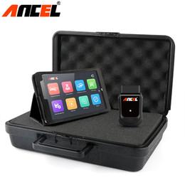 Toptan satış OBD OBD2 EOBD Otomotiv Tarayıcı X5 WIFI Win10 Tablet Oto Araç Teşhis Aracı Hava Yastığı ABS DPF Sıfırlama Tam Sistem Tanı