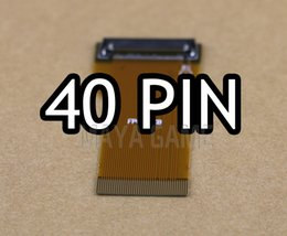 gba sp 2020 - 40pins DIY Backlit LCD Ribbon Cable Highlighted Ribbon Adapter for GBA SP Screen for Game Boy Advance discount gba sp