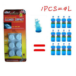 $enCountryForm.capitalKeyWord NZ - 6PCS Pack(1PCS=4L Water) Brand New Car Solid Wiper Fine Car Auto Window Cleaning Car Windshield Glass Cleaner
