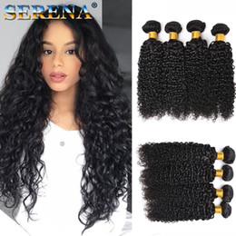 Discount kinky curly human hair - Brazilian Curly Weave Virgin Human Hair Bundles Brazilian Kinky Curly Hair Weaves 4 Bundles Deep Wave Brazilian Human Ha