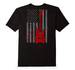 Black s guitar online shopping - Guitarist Gifts American Pride Guitar Player T Shirt Men T Shirt Cheap Sale Cotton