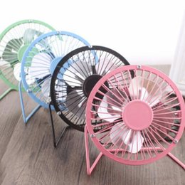 Table for office desk online shopping - 2018 Aluminum leaf Quiet Mini Table Desk Personal Fan and Portable Metal Cooling Fan for Office Home High Compatibility