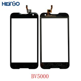 Touch Digitizer Glass Screen Assembly Australia - 5.0'' For BlackView BV5000 BV5000 Front Glass Touch Screen Digitizer Panel Glass Lens Sensor Assembly Repair LCD Tools +Adhesive