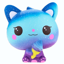 Ascromy Squishies Weiche Langsam Rising Jumbo Cat Jumo Tiere Kawaii Squisy Packung Squishy Big Duft Ice Cream Stress Relief Spielzeug