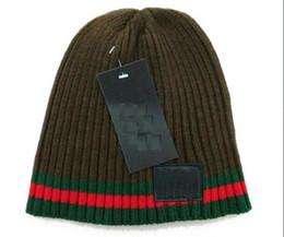 3e11f9d8af760 Wholesale-2018 Autumn Winter Hats For Women Men Brand Designer Fashion  Beanies Skullies Chapeu Caps Cotton Gorros Touca De Inverno Macka cap