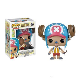 One Piece Pop Figures NZ - DHL Fast ship Funko POP One Piece - TONYTONY CHOPPER Vinyl Action Figure With Box #233 Popular Toy Gift Good Quality