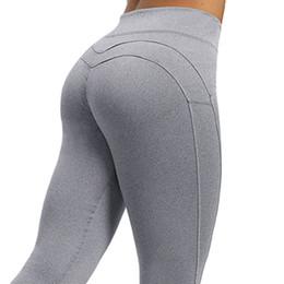 Xl Womens Leggings Australia - Women High waist Workout Legging Sexy Push Up Leggings Femme Solid Heart leggings Femme V waist Womens trousers