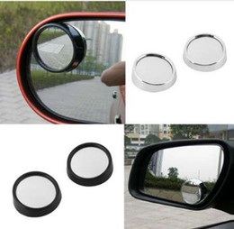 blind spot mirrors 2019 - Both sides Sides Wide Angle Round Convex Mirror Universal Car Vehicle Blind Spot Mirror Auto Rearviewer Small Round Mirr