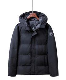 Warmest Goose Down Parka Australia - Fashion Brand Men's Goose Down Jacket Coat Expedition Winter Warm Mens Down jackets Coats Fur Collar Parkas Vest M-3Xl