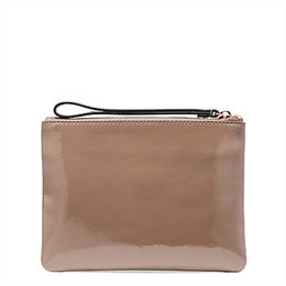 Discount clutch bags white gold color - NEW ARRIVED LOVELY LEATHER POUCH MED SIZE ZIP POUCH SMALL SIZE ZIP WALLET CLUTCH