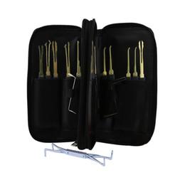 $enCountryForm.capitalKeyWord Australia - Goso 20pcs Lock Pick Tool Kit Set Locksmith Traning Opener