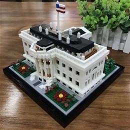 $enCountryForm.capitalKeyWord NZ - New Balody Architecture Bricks diamond Mirco building blocks US Presidential office white house toys For Kids Educational toy