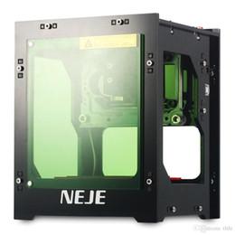 Großhandel NEJE DK - KZ 1000mW Hochleistungs-Laser Engraver Printer Cutter Machine Kompatibel mit Windows XP / 7/8/10 3D-Drucker Kostenloser Versand VB
