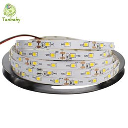 China Tanbaby led strip SMD 3528 DC12V 60 LED M flexible 2835 Rope Non-waterproof indoor decortion string light 5M reel suppliers
