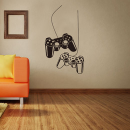 $enCountryForm.capitalKeyWord NZ - Game Controller Wall Stickers Can Be Removable PVC Self-adhesive Arts Murals Wallpapers Waterproof Boy Bedroom Decor Free Shipping
